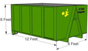 15 yard Dumpster Rental Norwood